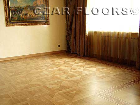 316: Combination of two parquet patterns